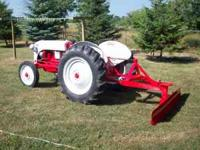 for sale 8n ford tractor with blade all motor and