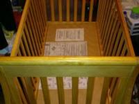 I have for sale a delta luv crib it is a navajo pine