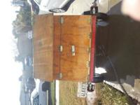 For sale a nice, small, metal trailer for atv or other