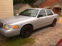 1998 silver Crown Victoria. Has V-8 455 police