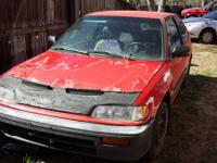 I have the following for sale  91 civic si shell red