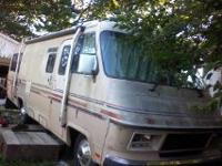 27 foot -1984 PACE ARROW - 48000, miles- really low low