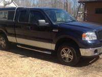 2006 Ford F-150 4 x 4. Towing package, topper, power
