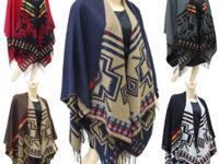 Selling the most popular ponchos and scarves for the