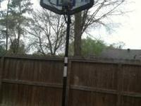 Huffy Sporting basketball hoop for sale its still in a