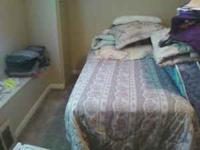 I Have a really nice twin bed set for sale moving must