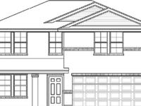 NEW CONSTRUCTION, THE BURNET FLOORPLAN WITH 3 BEDROOMS