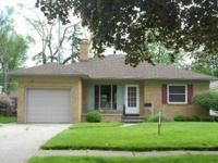 All brick home; 2 lg. Bedrooms, 2 Baths, beautiful