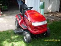 for sale craftsman mower. DYT 4000 hydrostatic 18.5 OHV
