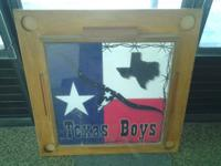 $50 per each staying board/table top. (A TEXAS Motif