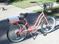 Gently and only slightly used, Pedego electric assist