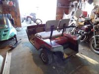 For sale ez go golf cart. needs starter. $250. Call