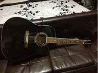 hi. i am selling my fender acoustic guitar for $50its