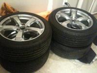 For Sale Full Set Of Acura TL RIMS With Tires For Sale In Bowie - Acura tl rims for sale