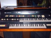 I have A Hammond XTP organ it has 2 small speakers long