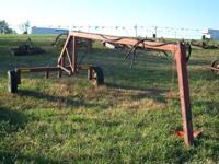 FOR SALE HAY RAKE CART THIS CART YOU CAN HOOK UP TWO