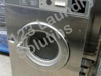 For sale Huebsch Front Load Washer 208-240v Stainless
