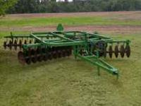 For Sale - John Deere Double Disk Model 215 For
