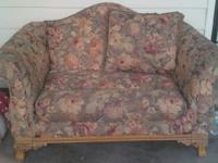 For Sale Loveseat, good condition.      Call
