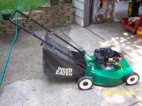 I have for sale a good slection of hand mowers fom