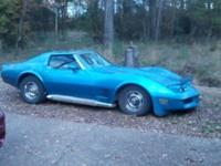 FOR SALE OR TRADE ....1976 Chevy Corvette , Blue