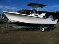 *FOR SALE OR TRADE* 1992 PARKER 21 SPORT O/B W/ 225