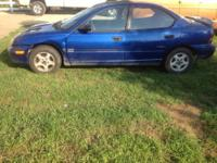 Would like to trade my 1997 Plymouth Neon, 4 door,