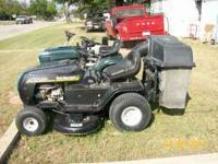 I HAVE A YARDMAN RIDING MOWER WITH DUAL BAGGER MOWER