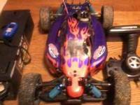 for sale; gas powered rc buggy with starter