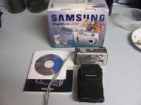 For Sale : Samsung Digimax 240 Camera , Used , in good