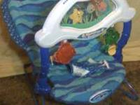 Fisher-Price Ocean Wonders Aquarium Bouncer with