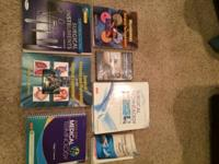I have for sale all books and supplies needed for the