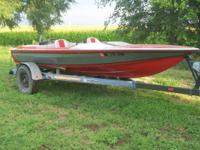 FOR SALE OR TRADE- 1893 MARLIN 17' FIBERGLASS SPEED