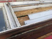 For sale trade 2 transom windows door. Frames and