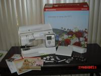 Comes with all original accessories, 10 presser feet, 2