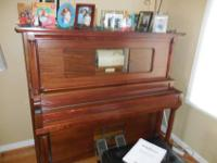 1913 Upright Antique Player Piano by MONARCH Serial