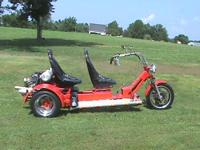 2002 VW Trike, 1641 vw engine, Dual Port carbs., two