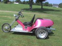 2011 vw trike, 1600 cc volkswagen engine, Harley