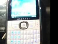 For Sale White ATT Alcatel 871A Keyboard with camera