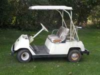 For Sale I have a yamaha golf cart for sale, runs good
