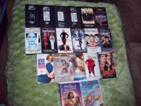 I have about 19 VHS movies for sale. $25 for all or