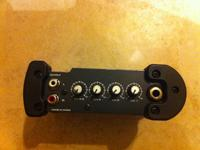 SALE: Samson S-Mix 4-input stereo mixer. Lightly made