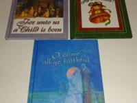 Up for sale are these three books for Christmas. These