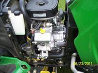 Description for sale: 2002 John Deere Lawn X485 Lawn