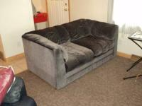 For Sale: In good condition love seat/sofa. Ideal for a