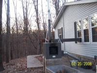 Houses, mobile homes or shops can be heated with one of
