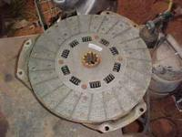 This is a new clutch and pressure plate for a 70's-80's