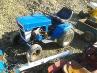 i have for sale a ford 120 with a plow and mower,