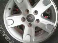 I have four 17 inch alloy wheels off of a late model