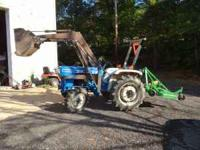 Ford 1700 Tractor with power steering; III point hitch;